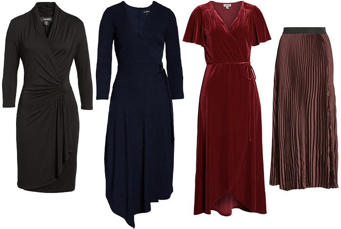 thanksgiving dresses and skirts | 40plusstyle.com