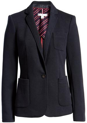 Tommy Hilfiger jacket | 40plusstyle.com