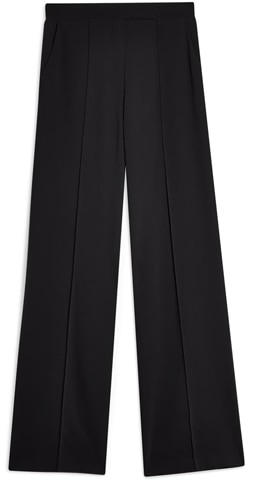 Topshop pintuck pleat wide leg trousers | 40plusstyle.com