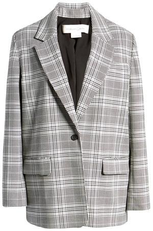 Treasure & Bond oversized blazer | 40plusstyle.com