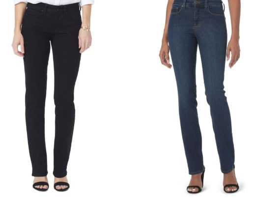 Tummy tucking jeans | 40plusstyle.com