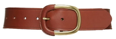 Halogen wrapped leather belt | 40plusstyle.com
