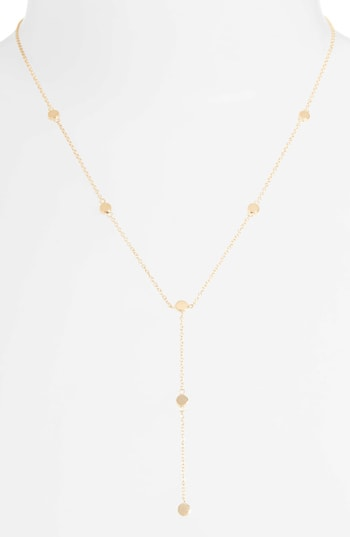 Jennifer Zeuner y-necklace | 40plusstyle.com