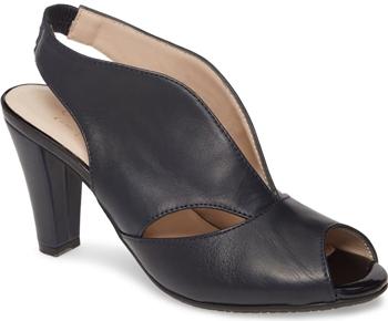Carvela Comfort slingback sandal | 40plusstyle.com