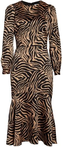 Chelsea28 zebra print dress | 40plusstyle.com