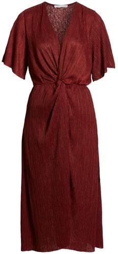 All in Favor plissé dress | 40plusstyle.com