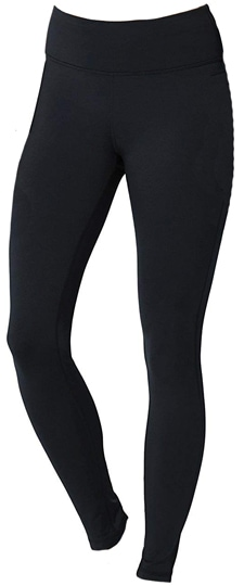 Conceited fleece lined leggings | 40plusstyle.com