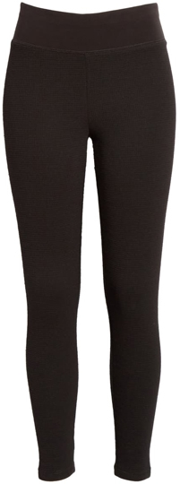 Eileen Fisher thermal leggings | 40plusstyle.com