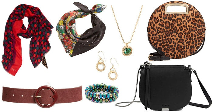 accessories for the hourglass body shape | 40plusstyle.com