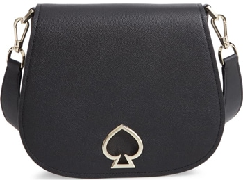 gift ideas for women - Kate Spade leather saddle bag | 40plusstyle.com