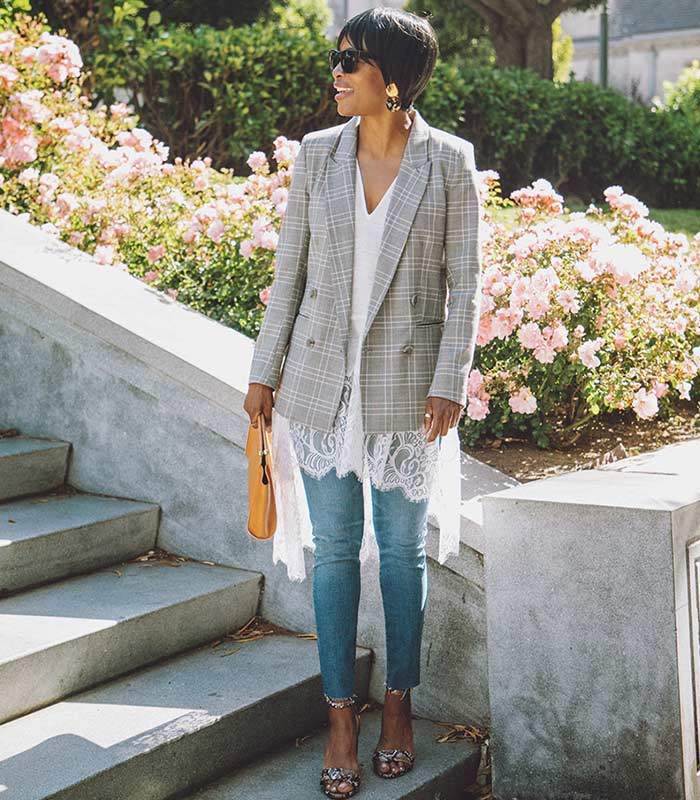 The best blazer styles to choose to instantly elevate any outfit | 40plusstyle.com