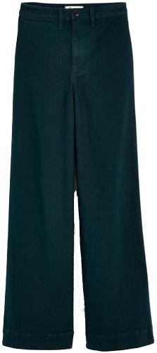 Madewell wide leg pants | 40plusstyle.com