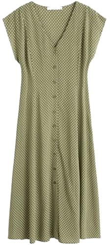Mango printed dress | 40plusstyle.com