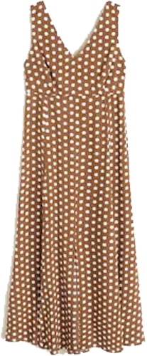 Mango printed long dress | 40plusstyle.com