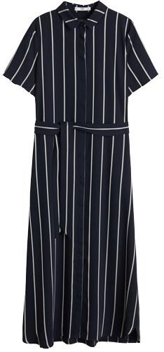 Mango belt shirt dress | 40plusstyle.com