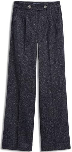 ModCloth wide leg tweed pants | 40plusstyle.com