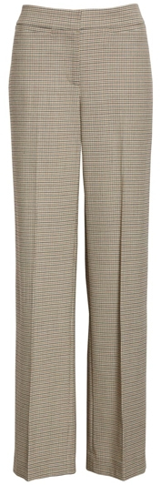 Nordstrom Signature check wide leg trousers | 40plusstyle.com