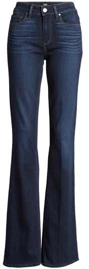 Paige manhattan bootcut jeans | 40plusstyle.com