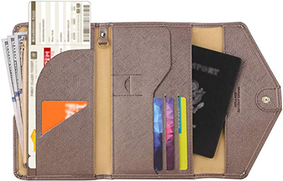 gift ideas for women - Zoppen passport holder | 40plusstyle.com