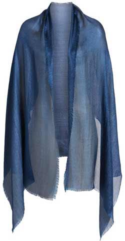 shrugs and boleros for evening dresses: Nordstrom shimmer wrap | 40plusstyle.com