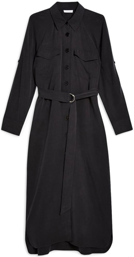 Topshop utility shirtdress | 40plusstyle.com