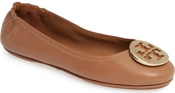 gift ideas for women - Tory Burch 'Minnie' ballet flat | 40plusstyle.com