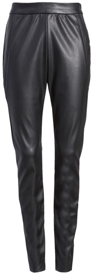 Vero Moda faux leather leggings | 40plusstyle.com