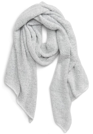 BP. plush bias scarf | 40plusstyle.com