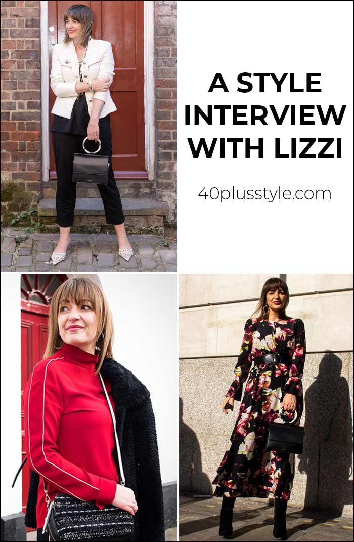 A style interview with Lizzi Richardson | 40plusstyle.com