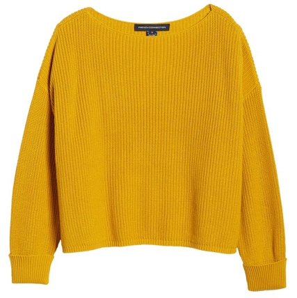 French Connection Millie Mozart sweater | 40plusstyle.com