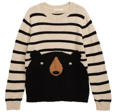 Tucker + Tate animal sweater | 40plusstyle.com