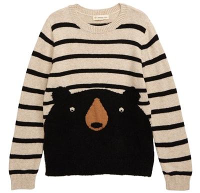 Tucker + Tate animal sweater | 40plusstyle.com