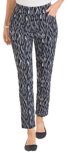 printed pants for women over 40 | 40plusstyle.com