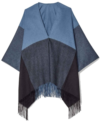 ponchos to stay warm and stylish in winter | 40plusstyle.com