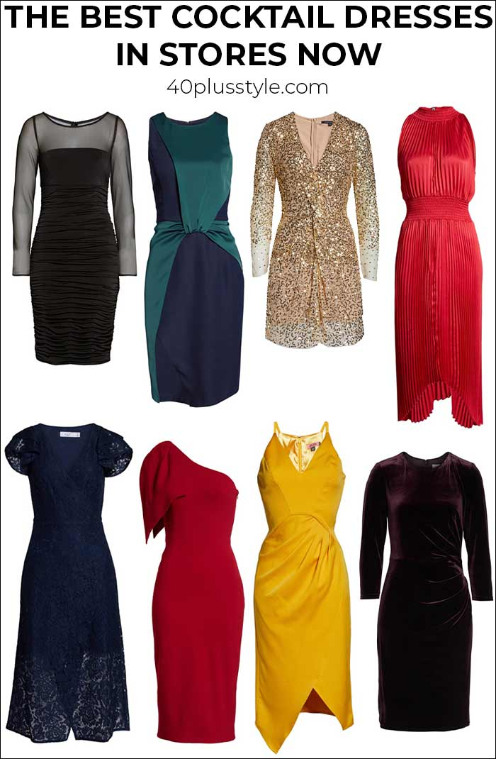 The best cocktail dresses in stores now   40plusstyle.com