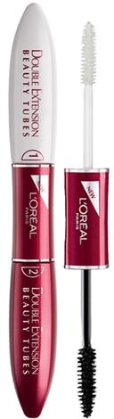 L'Oreal Paris Double Extend Beauty Tubes Lengthening Mascara | 40plusstyle.com