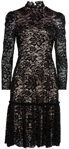 Eliza J fit & flare lace dress | 40pusstyle.com