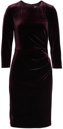 Eliza J velvet sheath dress   40pusstyle.com