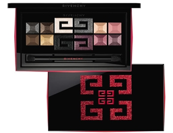 Givenchy Red Line Holiday eyeshadow palette | 40plusstyle.com