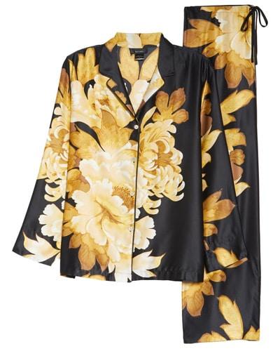Natori satin pajamas | 40plusstyle.com