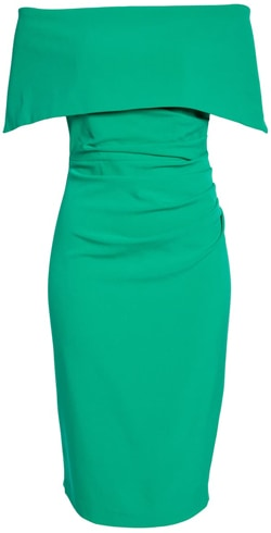 Vince Camuto popover dress | 40pusstyle.com