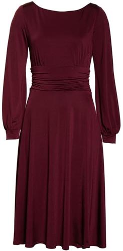 Harper Rose ruched waist jersey dress   40pusstyle.com