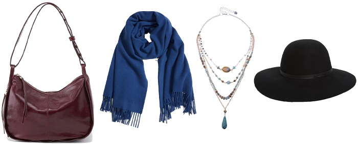 accessories to wear with leather jackets   40plusstyle.com