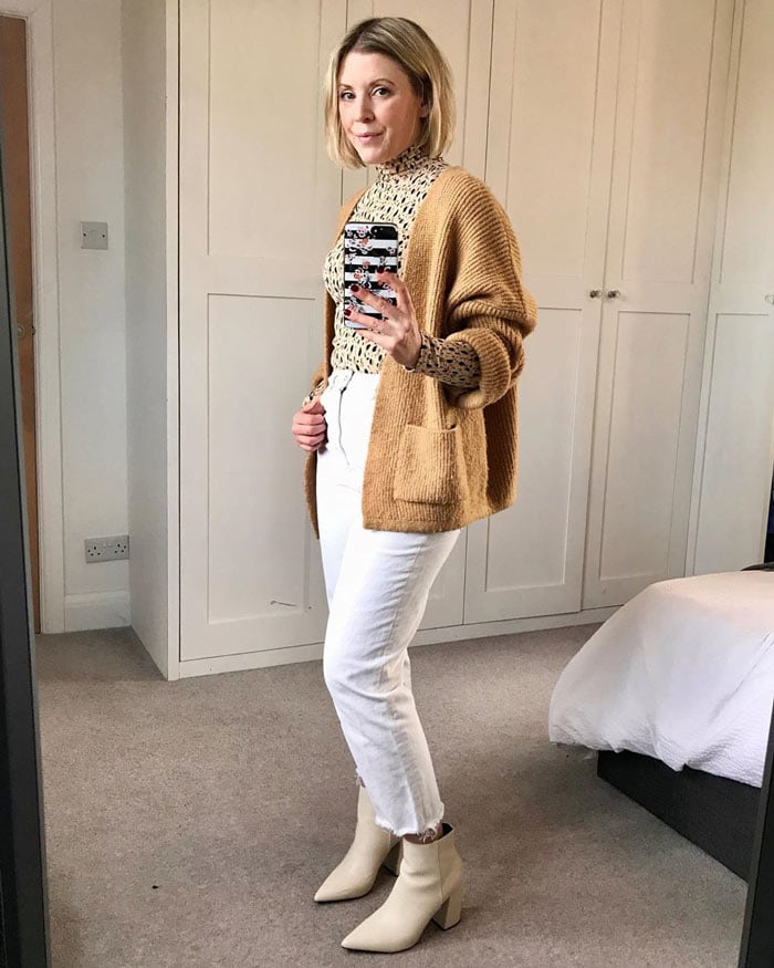Neutral sweaters for women | 40plusstyle.com