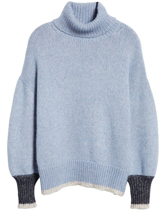 La Ligne oversize turtleneck sweater | 40plusstyle.com