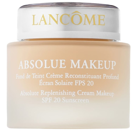 Lancôme Absolue Replenishing Cream Makeup SPF 20   40plusstyle.com