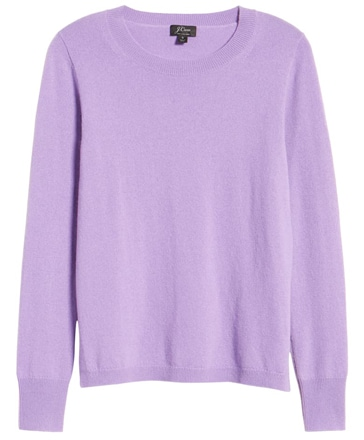 J.Crew cashmere sweater | 40plusstyle.com