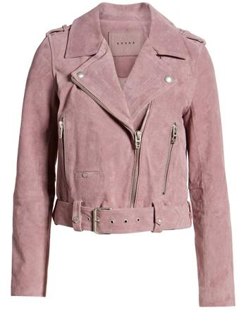 Blank NYC moto jacket | 40plusstyle.com