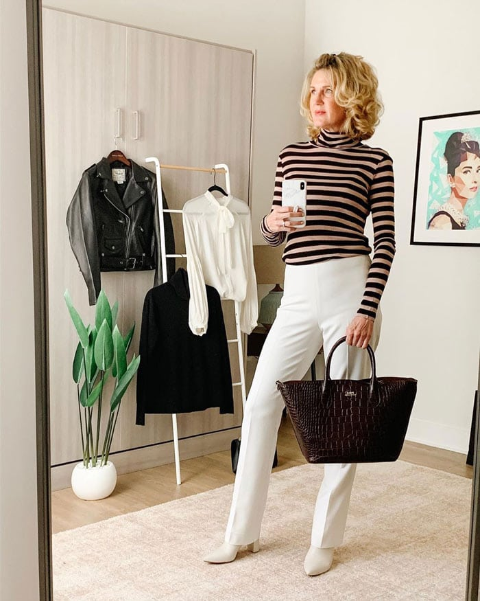turtleneck sweaters for women | 40plusstyle.com