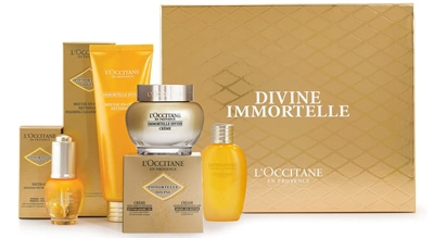 L'Occitane Immortelle Divine Grand Cru edition star set | 40plusstyle.com